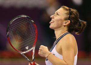 TENNIS-QAT-WTA-HALEP