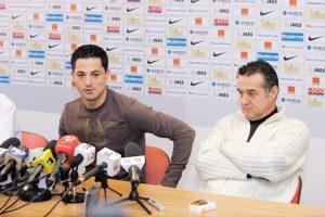 Gigi Becali este nașul de cununie al lui Mirel Rădoi. (Credit foto: Prosport.ro)