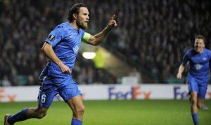 Golul dat de Daniel Hestad i-a adus lui Molde calificarea în șaisprezecimile Europa League, cu două meciuri rămase de jucat. (Foto: Getty Images)