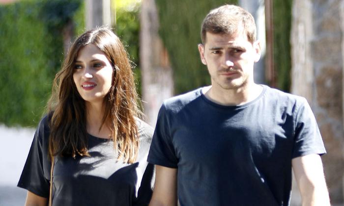 Sara si Casillas