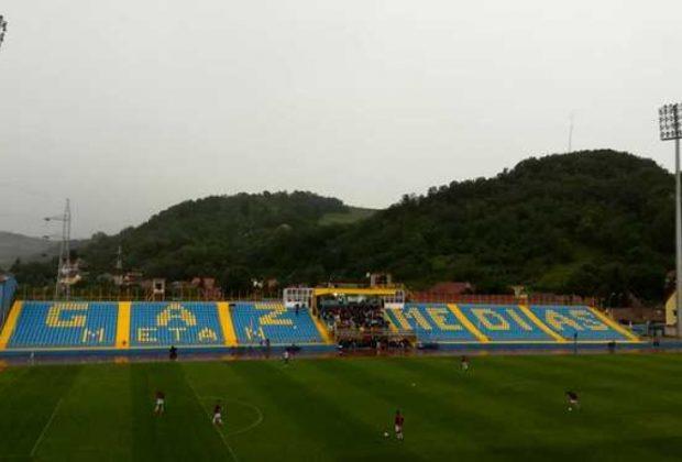 Gaz Metan Mediaș învinge cu 2-0 pe FC Voluntari și rămâne îm lupta pentru play off