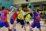CSA Steaua Bucureşti a câştigat clar derby-ul cu CS Dinamo Bucureşti, scor 35-30 (15-12), în Liga Națională de handbal masculin