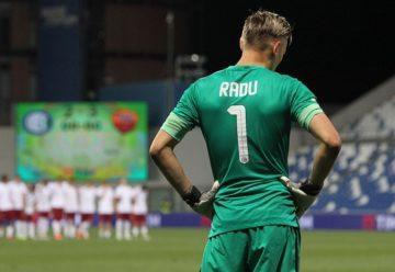 Ionuț Radu preferă să apere la U21 decât să fie rezervă la naționala mare