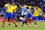 Argentina, fără Lionel Messi, Sergio Agüero şi Angel Di Maria, dar condusă de Paulo Dybala, a învins selecţionata Mexicului, scor 2-0