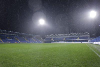 ALERTĂ Meciul României cu Muntenegru, de la Podgorica, ar putea fi AMÂNAT: Depinde de 'dispariţia fulgerelor şi absenţa unor precipitaţii abundente'