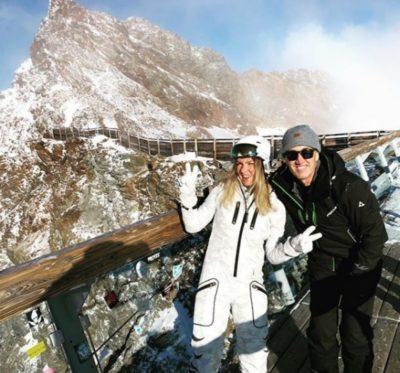 Simona Halep și fostul ei antrenor, Cahill, s-au dus în vacanță la munte în Austria