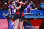 Naționalele României la tenis de masă, în primele 6 echipe ale lumii la Campionatul Mondial de juniori din Australia, la masculin și la feminin