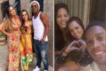 După o despărţire de câteva luni, Ronaldinho şi-a reluat relaţia cu cele două femei pe care le-a cerut în căsătorie vara trecută