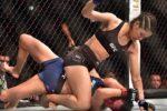 Un hoț a fost rupt în bătaie de o celebră luptătoare din UFC: A vrut să o jefuiască cu un pistol