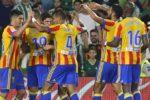 Valencia a învins, sâmbătă, în deplasare, cu scorul de 2-1, Celta Vigo