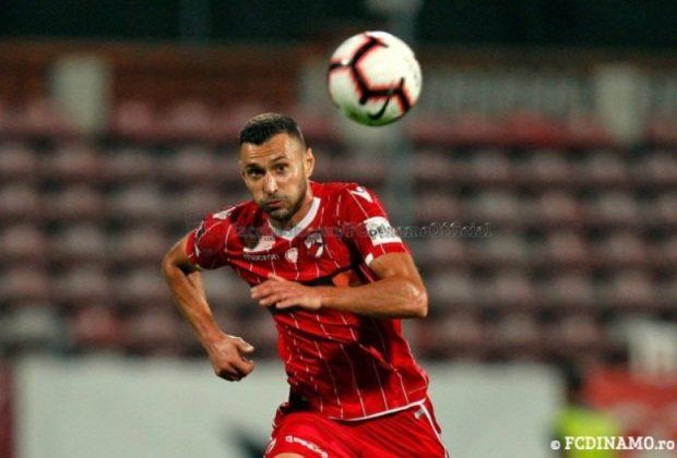 FC Dinamo București a anunțat despărțirea de atacantul Mircea Axente, transferat la echipă în vara anului trecut