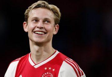 Internaţionalul olandez Frenkie de Jong va juca pentru FC Barcelona timp de cinci sezoane