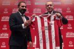 Preşedintele Turciei a primit un tricou cu autografele jucătorilor Gabriel Torje şi Paul Papp