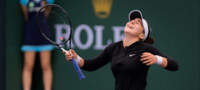 Bianca Andreescu a câştigat turneul de la Indian Wells, la 18 ani