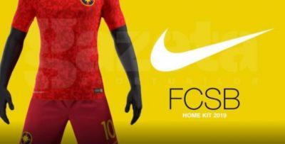 FCSB va avea un nou echipament în următorul sezon - GALERIE FOTO
