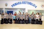 Echipa de minihandbal a Școlii nr. 96, din Sectorul 4, a reprezentat Capitala la Olimpiada Națională a Sportului Școlar