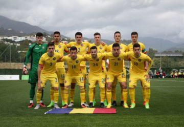 Tricolorii `mici` joacă, vineri, cu Anglia, al doilea meci la Campionatul European de tineret