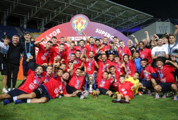 Europa League: KAA Gent - FC Viitorul 5-1, la pauză
