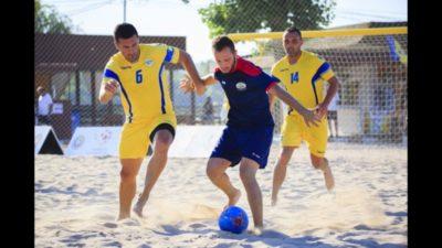 Lotul naționalei de fotbal pe plajă a României pentru Euro Beach Soccer League