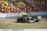 Calitatea gazonului de pe Arena Națională lasă de dorit înaintea partidei dintre România și Spania