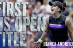 Bianca Andreescu, SENZAŢIE în 'războiul' generaţiilor! Românca o învinge pe Serena Williams în finala US Open