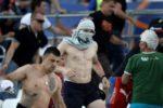 Tensiuni în preliminariile Euro-2020: opt suporteri au fost arestați pentru că au vrut să afișeze un mesaj pro-Serbia
