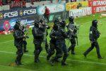 Jandameria a amendat-o pe FCSB, dar și pe firma de securitate, pentru VIOLENȚELE de la derbiul cu Dinamo