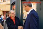 VIDEO Moment PENIBIL cu Dan Barna, cel care vrea să fie președintele țării: I-a spus celebrului Emerich Ienei, pe care nu l-a recunoscut, că îi dă un autograf