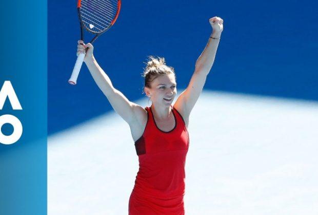 Simona Halep o spulberă pe Anett Kontaveit și merge mai departe la Australian Open