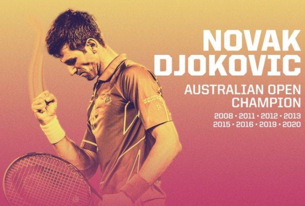 Novak Djokovici a câștigat, pentru a opta oară, Australian Open: De luni, sârbul este noul lider mondial